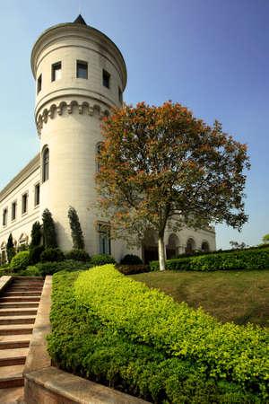 environmental science: European architecture, retro architectural appearance