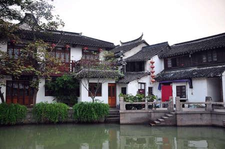 original ecological: Zhujiajiao town scenery