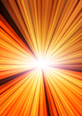 dazzling: The dark background emit dazzling light, orange  Stock Photo