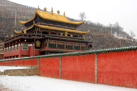 Other great stability of Tibetan Buddhism temples  Stock Photo
