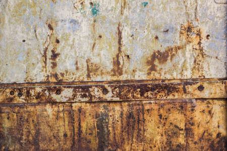 mottled: Color mottled paint weathering mosaic iron rust dirty close-up