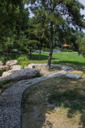 Chinese style outdoor landscape