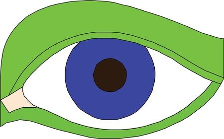 Eye icon Stock Vector - 22027848