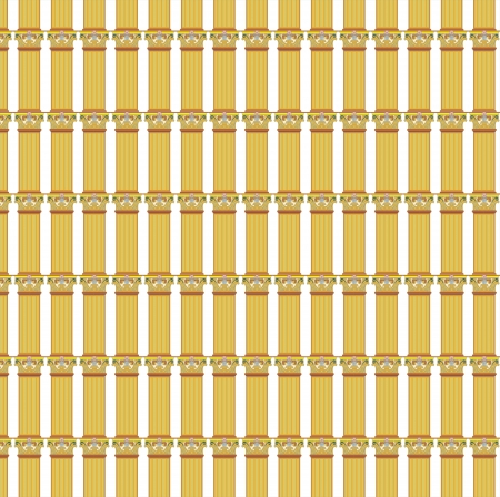 column pillar pattern Vector