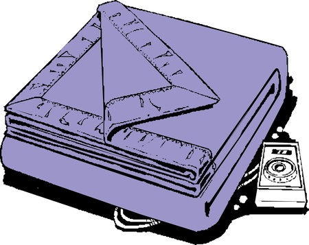 stead: Vector illustration of a mattress