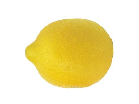 chomp: Tasty yellow lemon over white