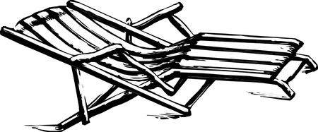 chaise: Beach chair chaise longues