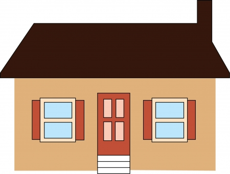 Vector illustration of  house Vector