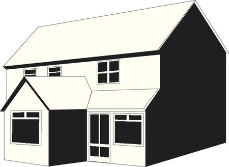 illustration of  house Illustration