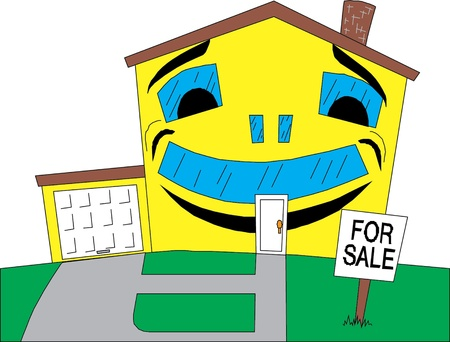 home for sale icon  Stock Vector - 22113295