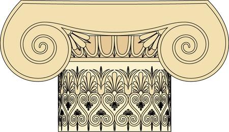 roman empire: Antique column pillar