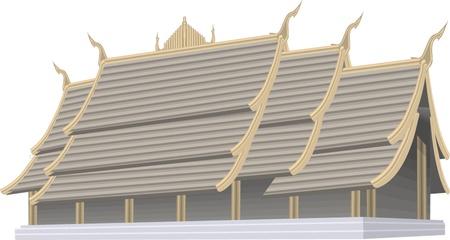 pavilion: vector chinese pavilion