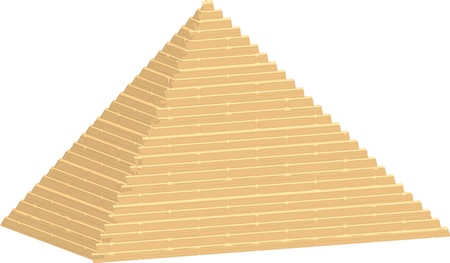 illustration of pyramid Vector