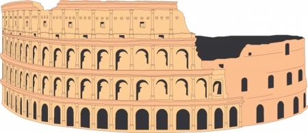 coliseum: Coliseum illustration
