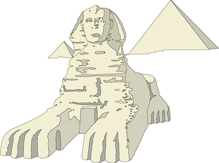 illustration of the sphinx