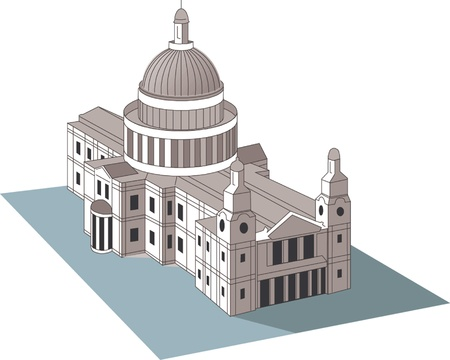 albany: State Capitol Illustration