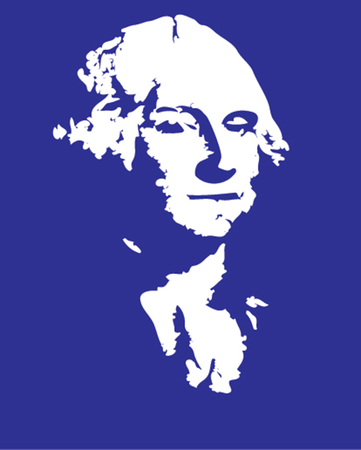 george washington: Vector illustration of George Washington  Illustration