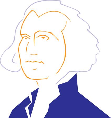 Vector illustration of George Washington Stock Vector - 22207993