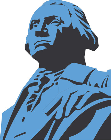 Vector illustration of George Washington  Stock Vector - 22207992