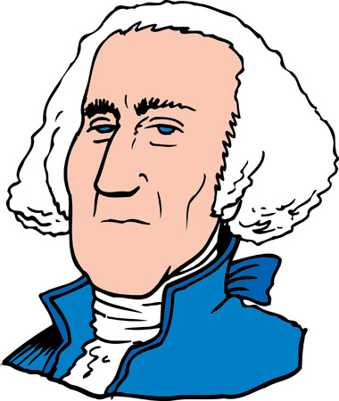 Vector illustration of George Washington  Stock Vector - 22207998
