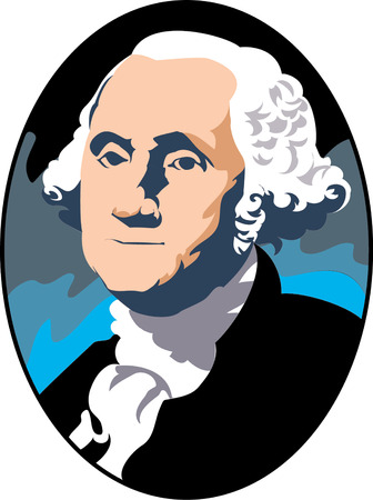 Vector illustration of George Washington Stock Vector - 22208001