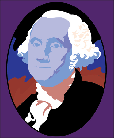 Vector illustration of George Washington  Stock Vector - 22207999