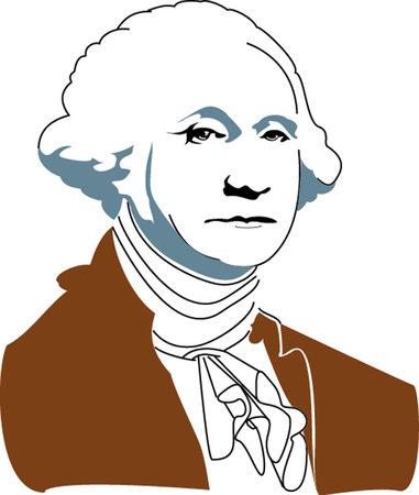 Vector illustration of George Washington  Stock Vector - 22207997