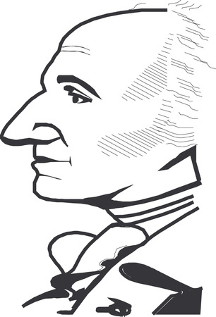 Vector illustration of George Washington  Stock Vector - 22208003