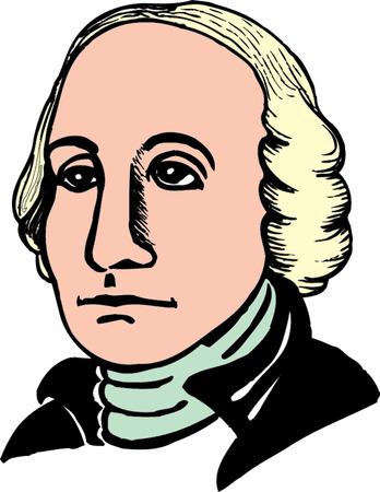 Vector illustration of George Washington Stock Vector - 22208002