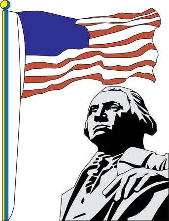 Vector illustration of George Washington Stock Vector - 22208081