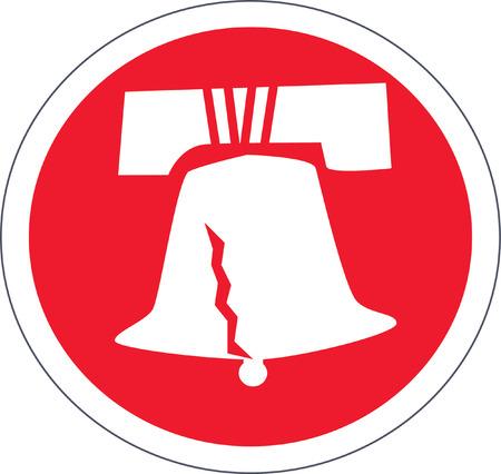 liberty bell: Liberty Bell Illustration