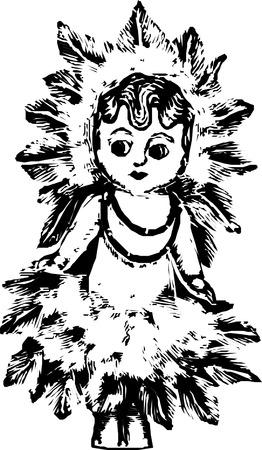Illustration Of Doll