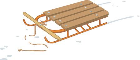 luge: sled