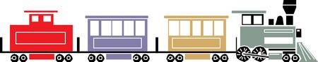 Toy Train - Vector