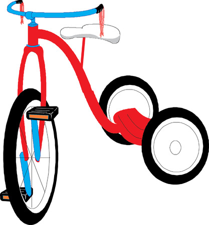treadle: kids tricycle