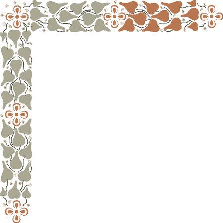 border oriental  pattern Imagens - 24384641