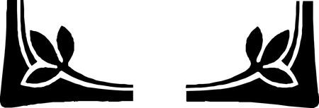 border oriental  pattern Imagens - 24384645