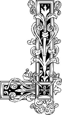 border oriental  pattern Imagens - 24384644