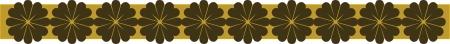 border oriental  pattern Imagens - 24384740
