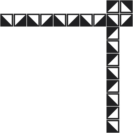 border oriental  pattern Imagens - 24384746