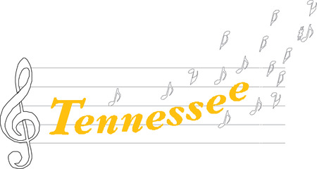 Tennessee state  Usa Imagens - 24119508