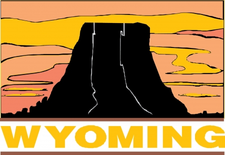 Wyoming USA State