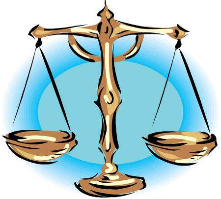 ungleichgewicht: Illustration der Waage