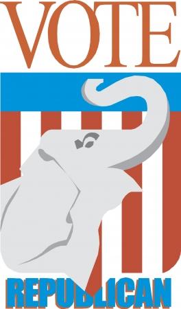 republican: Elefante republicano