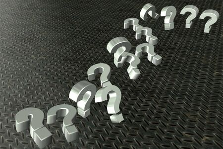 question mark icons