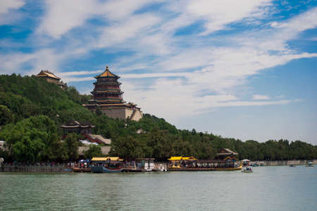 summer palace: The Old Summer Palace