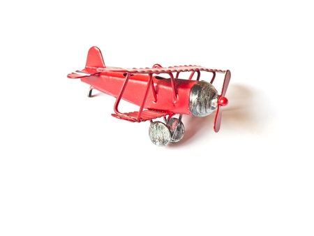 a model plane vintage isolated on white background photo