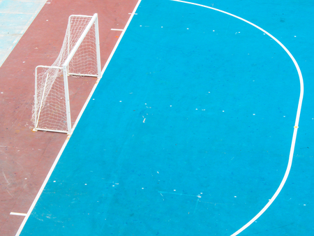 football or futsal concrete ground photo
