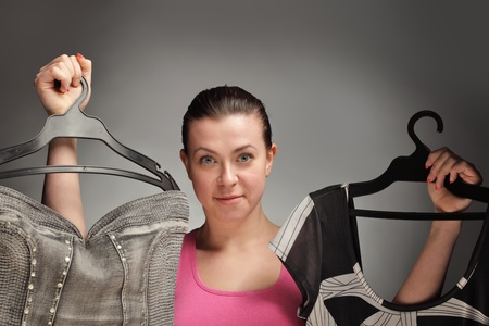 clothing choice Stock Photo - 9559570
