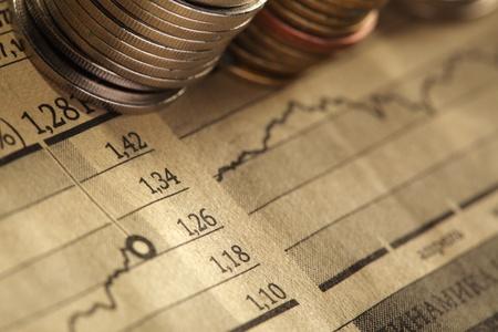 ganancias: moneda y concepto de negocio gr?co